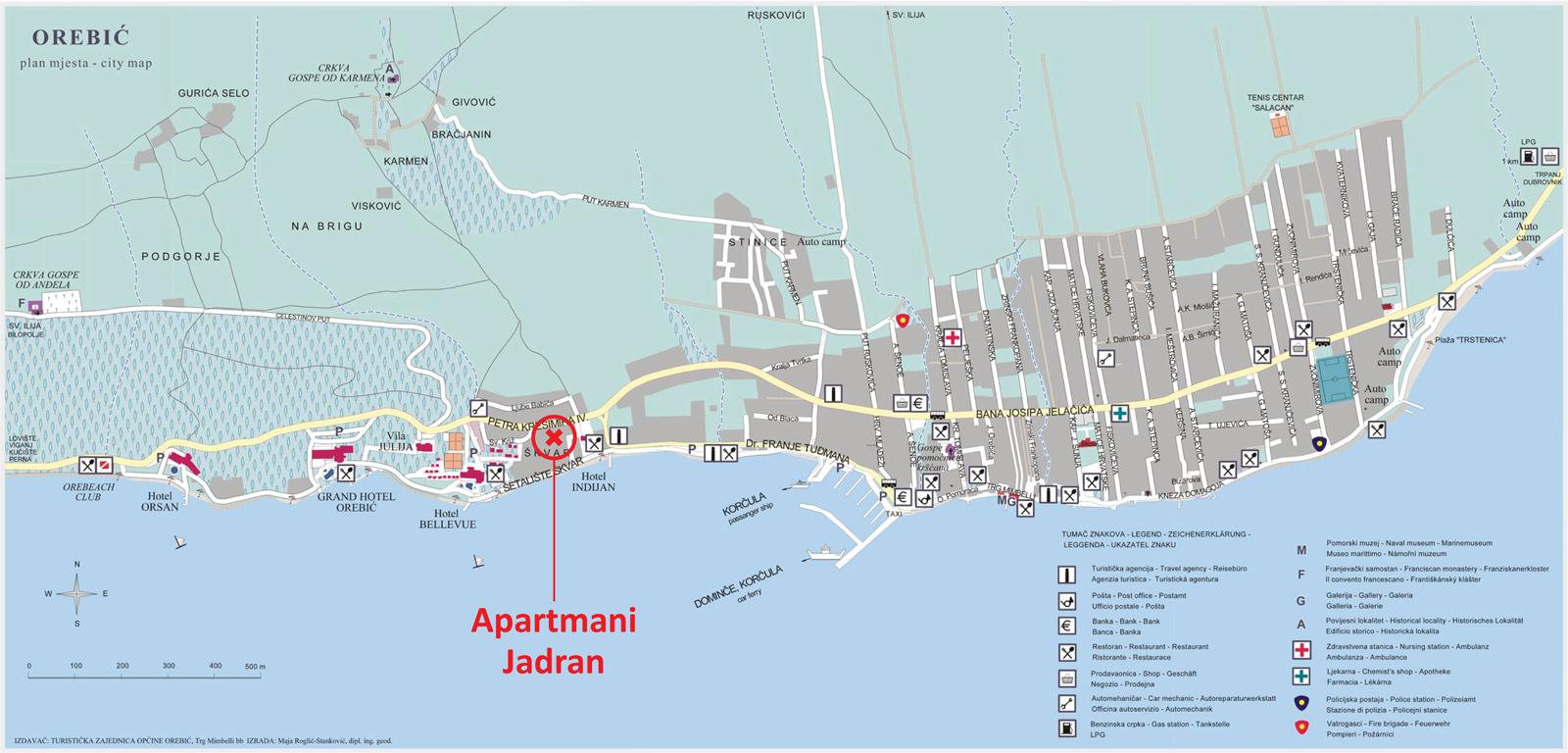 apartmani-orebic-plan